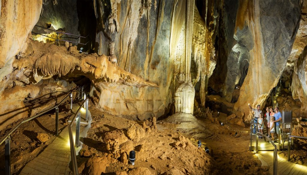 inside the Chillagoe caves